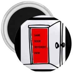 The Open Door Policy 3  Magnets by SugaPlumsEmporium