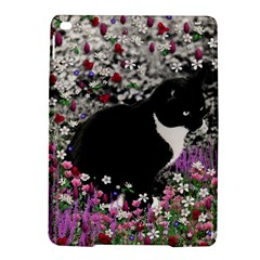 Freckles In Flowers Ii, Black White Tux Cat Ipad Air 2 Hardshell Cases by DianeClancy