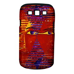 Conundrum Iii, Abstract Purple & Orange Goddess Samsung Galaxy S Iii Classic Hardshell Case (pc+silicone) by DianeClancy