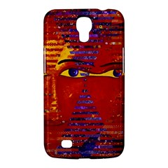 Conundrum Iii, Abstract Purple & Orange Goddess Samsung Galaxy Mega 6 3  I9200 Hardshell Case by DianeClancy