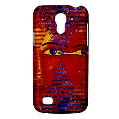 Conundrum Iii, Abstract Purple & Orange Goddess Galaxy S4 Mini by DianeClancy