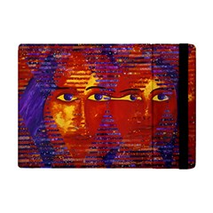 Conundrum Iii, Abstract Purple & Orange Goddess Ipad Mini 2 Flip Cases by DianeClancy