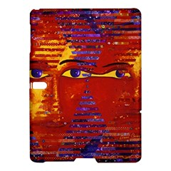 Conundrum Iii, Abstract Purple & Orange Goddess Samsung Galaxy Tab S (10 5 ) Hardshell Case  by DianeClancy