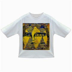 Conundrum Ii, Abstract Golden & Sapphire Goddess Infant/toddler T Shirts by DianeClancy