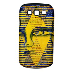Conundrum Ii, Abstract Golden & Sapphire Goddess Samsung Galaxy S Iii Classic Hardshell Case (pc+silicone) by DianeClancy