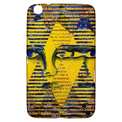 Conundrum Ii, Abstract Golden & Sapphire Goddess Samsung Galaxy Tab 3 (8 ) T3100 Hardshell Case  by DianeClancy