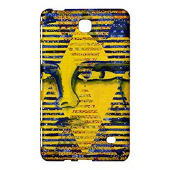 Conundrum Ii, Abstract Golden & Sapphire Goddess Samsung Galaxy Tab 4 (7 ) Hardshell Case  by DianeClancy