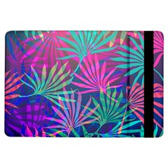 Colored Palm Leaves Background Ipad Air Flip by TastefulDesigns