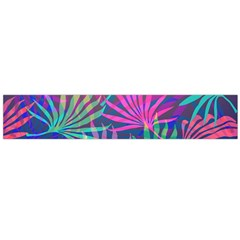 Colored Palm Leaves Background Flano Scarf (large) by TastefulDesigns