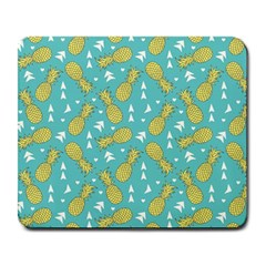 Summer Pineapples Fruit Pattern Large Mousepads by TastefulDesigns
