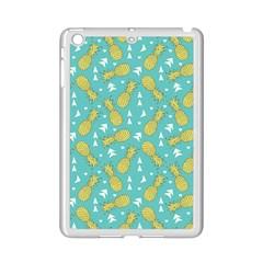 Summer Pineapples Fruit Pattern Ipad Mini 2 Enamel Coated Cases by TastefulDesigns