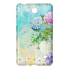 Watercolor Fresh Flowery Background Samsung Galaxy Tab 4 (8 ) Hardshell Case  by TastefulDesigns