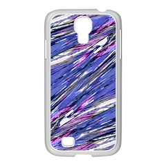 Abstract Collage Print Samsung Galaxy S4 I9500/ I9505 Case (white)