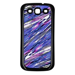 Abstract Collage Print Samsung Galaxy S3 Back Case (black) by dflcprints