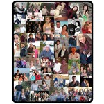 Grandmas blanket 2 - Fleece Blanket (Medium)