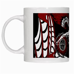 Winged Angel White Coffee Mug