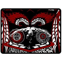 Winged Angel Fleece Blanket (extra Large) by DryInk
