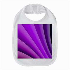 Gentle Folds Of Purple Bib by FunWithFibro
