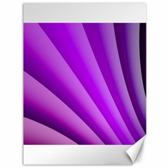 Gentle Folds Of Purple Canvas 36  X 48   by FunWithFibro