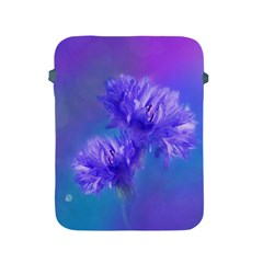 Flowers Cornflower Floral Chic Stylish Purple  Apple Ipad 2/3/4 Protective Soft Cases by yoursparklingshop