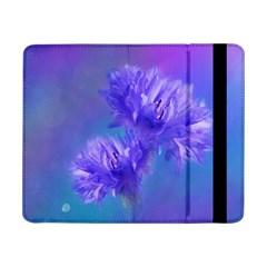 Flowers Cornflower Floral Chic Stylish Purple  Samsung Galaxy Tab Pro 8 4  Flip Case by yoursparklingshop