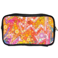 Sunshine Bubbles Toiletries Bags 2 Side by KirstenStar