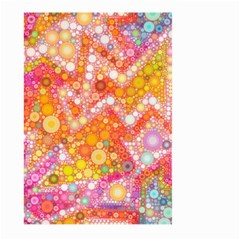Sunshine Bubbles Large Garden Flag (two Sides) by KirstenStar