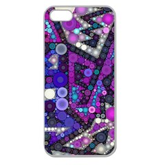 Hipster Bubbes Apple Seamless Iphone 5 Case (clear) by KirstenStar