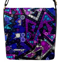 Hipster Bubbes Flap Messenger Bag (s) by KirstenStar