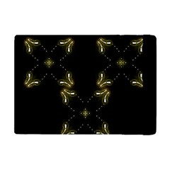 Festive Black Golden Lights  Apple Ipad Mini Flip Case by yoursparklingshop