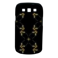 Festive Black Golden Lights  Samsung Galaxy S Iii Classic Hardshell Case (pc+silicone) by yoursparklingshop