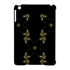 Festive Black Golden Lights  Apple Ipad Mini Hardshell Case (compatible With Smart Cover) by yoursparklingshop
