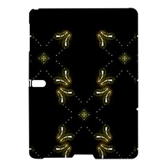 Festive Black Golden Lights  Samsung Galaxy Tab S (10 5 ) Hardshell Case  by yoursparklingshop