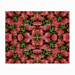Floral Collage Pattern Small Glasses Cloth (2 Side) by dflcprints