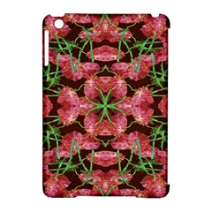 Floral Collage Pattern Apple Ipad Mini Hardshell Case (compatible With Smart Cover) by dflcprints