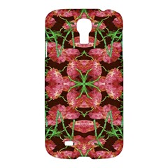 Floral Collage Pattern Samsung Galaxy S4 I9500/i9505 Hardshell Case by dflcprints