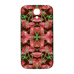 Floral Collage Pattern Samsung Galaxy S4 I9500/i9505  Hardshell Back Case by dflcprints