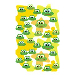 Cute Frog Family Whimsical Funny Shower Curtain 48  X 72  (small)  by CircusValleyMall