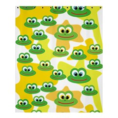 Cute Frog Family Whimsical Funny Shower Curtain 60  X 72  (medium)  by CircusValleyMall