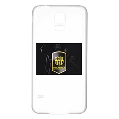 Apple Iphone 6/6s White Enamel Case Samsung Galaxy S5 Back Case (white) by barcabarca