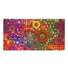 Circle Fantasies Satin Shawl by KirstenStar