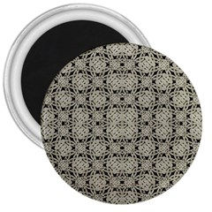 Interlace Arabesque Pattern 3  Magnets by dflcprints