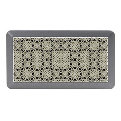 Interlace Arabesque Pattern Memory Card Reader (mini) by dflcprints