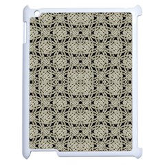 Interlace Arabesque Pattern Apple Ipad 2 Case (white) by dflcprints