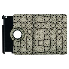 Interlace Arabesque Pattern Apple Ipad 2 Flip 360 Case by dflcprints