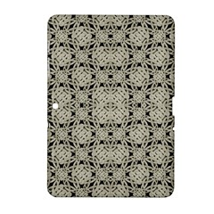 Interlace Arabesque Pattern Samsung Galaxy Tab 2 (10 1 ) P5100 Hardshell Case  by dflcprints