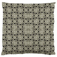 Interlace Arabesque Pattern Standard Flano Cushion Case (one Side) by dflcprints