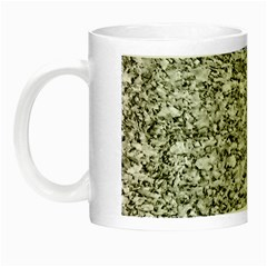 Black And White Abstract Texture Night Luminous Mugs by dflcprints