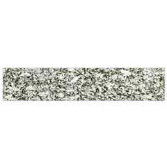 Black And White Abstract Texture Flano Scarf (small)  by dflcprints