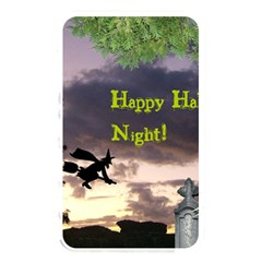 Happy Halloween Night Witch Flying Memory Card Reader by canvasngiftshop